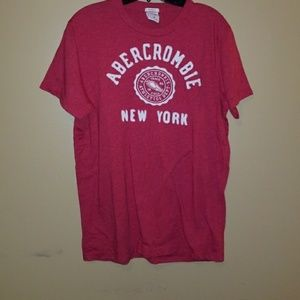 Two Abercrombie soft tees